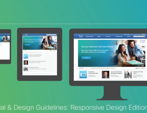 Cisco Responsive Design Guidelines
