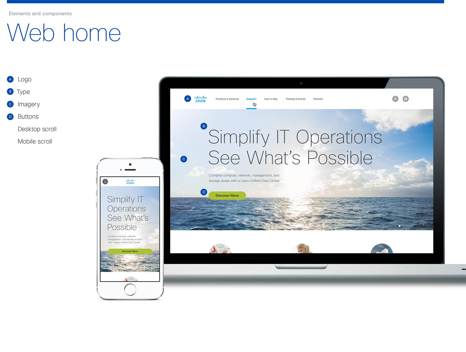 Cisco Product UI Design
